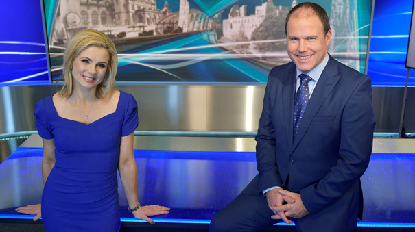 75542604f ... STV is launching a new-look, new-format STV News at Six, co-anchored  from Edinburgh by Kelly-Ann Woodland and Glasgow by John MacKay.